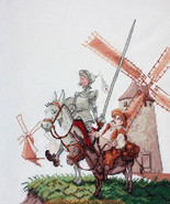 Cross Stitch Embroidery Kit Don Quixote - $39.22