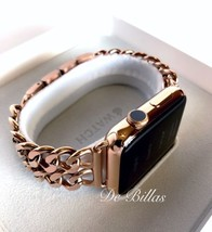42MM Apple Watch 24K Rose Gold plated, Rose Gold Links Band CUSTOM - $749.00