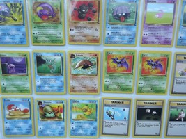 Pokemon Fossil Jungle Base Set Common and Uncommon You Choose - $0.99+