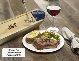 BBQ Fans Circle K Branding Iron for Steak, Buns, Wood & Leather | Includes Redwo image 3