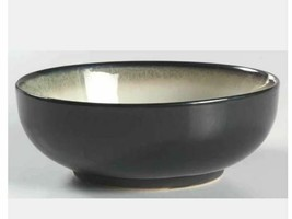 "Nova Black SANGO #4932 Set of 2 Soup Salad Cereal Bowls 6 3/4"" Wide Grayish - $12.12"