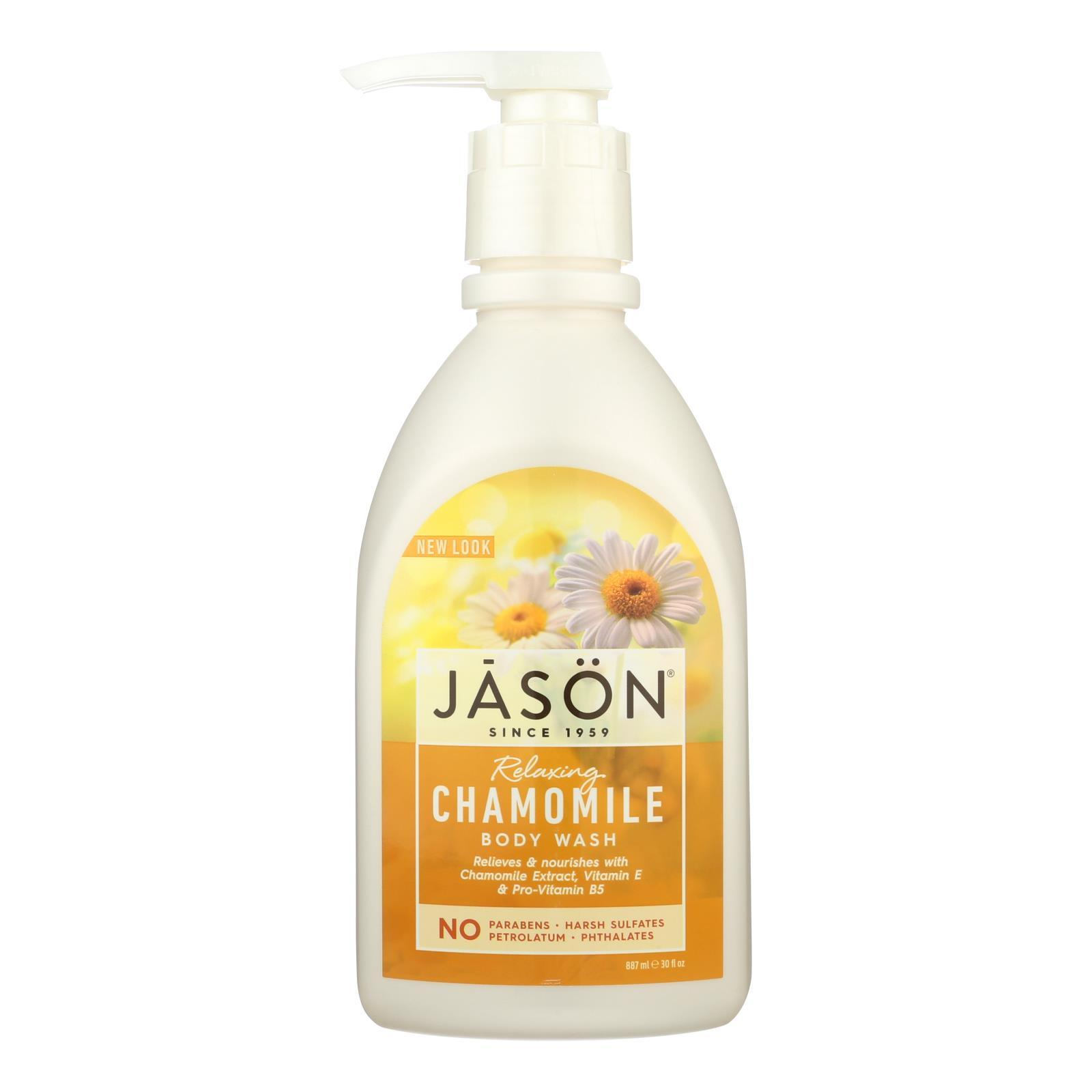 Primary image for Jason Pure Natural Body Wash Chamomile - 30 fl oz