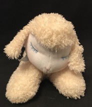 "Eden MUSICAL Mary Had A Little Lamb Wind Up Plush Moves 10"" Blue Bow Sew... - $12.30"