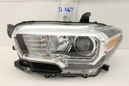 OEM HEAD LIGHT HEADLIGHT LAMP TOYOTA TACOMA 16-19 TRD BLACK LED chip mount - $113.85
