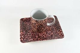 Vintage 2007 NOS New Coffee Bean STARBUCKS Mug Cup & Dessert Plate - $22.94