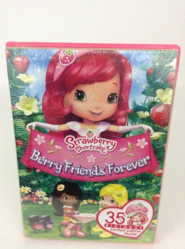 Strawberry Shortcake 35th Birthday DVD & Digital + Puzzle Berry Friends Forever