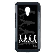 Beatles Motorola Moto E 2nd case Customized premium plastic phone case, design # - $11.87