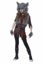 California Costume Werewolf Fairytale Animal Girl Child Halloween Costume 00609 - $26.28