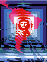 "20x30""Political World Solidarity Socialist Poster.Che Guevara America.6245 - $75.00"
