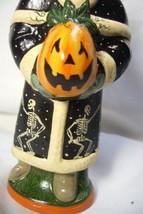 Vaillancourt Folk Art Halloween Santa, personally signed by Judi! image 2