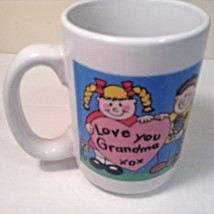 "Worlds Greatest Grandma Large Coffee Cup Mug CUTE 4.5"" tall x 3.25"" Diam - $10.00"
