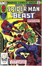 Marvel Team-Up Comic Book #124 Spider-Man and the Beast 1982 FINE - $1.99