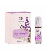 Arochem Lavender Floral Attar (Alcohol Free) 6 ml Pack in Mind Blowing F... - $9.97