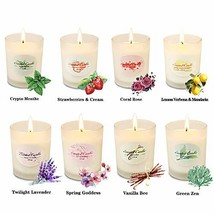 Y YUEGANG Scented Candles for Women Candles Set, Natural Luxury Scented ... - $20.63