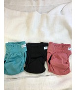 Paw Legend Reusable Dog Diapers, Pack of 3, XS, Pink/Blue/Black (KM) - $4.74