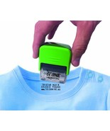 Self Inking Stamp Up to 3 Lines Customized Text Clothing Label and clothes - $54.45