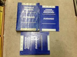 2002 Dodge Durango Service Réparation Atelier Manuel Set Avec Diagnostic... - $34.83