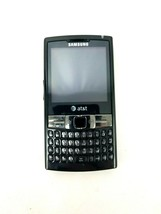 Samsung Epix SGH-I907- Black AT&T Keyboard Windows Smartphone No Charger or Batt image 1