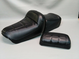 HONDA GL650 Silver Wing Seat Covers with BACKREST COVER in 25 Color Options  (E) - $67.95