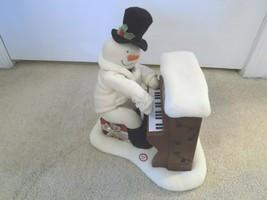 Hallmark Jingle Pals Piano Playing Lighted Musical Snowman--FREE SHIPPING! - $24.72