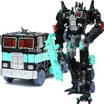 "TRANSFORMERS ""DARK OPTIMUS PRIME"" Action Figures Robot Toys Kids Assembly - $22.45"