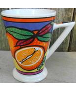Very Cool Modern Mug Cup Orange Fruit Pattern - $24.99