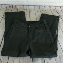 FERA   Men's Black Insulated Ski Snow Pants Size 34 Small - Winter Skiing - $59.40