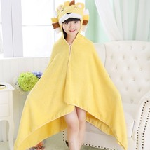 Kids Hooded Lion Bath Towel 100% Quality Cotton Soft Comfy Absorbent for... - $26.41