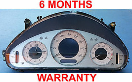 2003 Mercedes Benz E500  instrument cluster- *2115408511 - 6 MONTH WARRANTY - $124.95