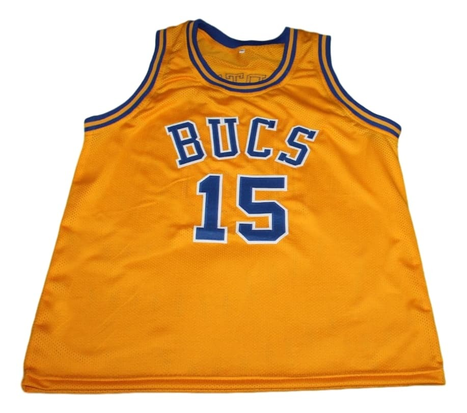 Vince Carter #15 Mainland Bucs New Men Basketball Jersey Yellow Any Size