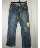 Bailey's PT Boys Denim Jeans 14 straight fit medium wash adjustable wais... - $19.80