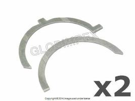 Mercedes w123 Thrust Washer Set Main Bearings Set Of 2 Glyco Oem +Warranty - $48.85