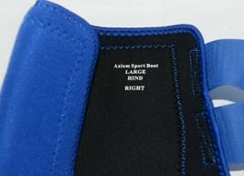 Cactus Gear Equine Equipment Large Hind Royal Blue Axiom Sport Boots Package 1 image 4