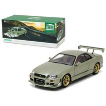 1999 Nissan Skyline GT-R (R34) Millennium Jade 1/18 Diecast Model Car  b... - $75.38