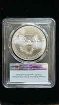 2020 (P) Silver Eagle PCGS MS 69 FS Emergency Issue White Spots Flag Coin 8100 image 3