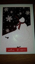 HALLMARK SNOWMAN CHRISTMAS CARDS HOLIDAY CARDS GREETINGS NIB 12 CARDS - $7.25
