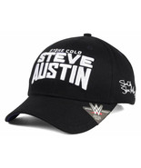 WWE World Wrestling Entertainment Stone Cold Steve Austin Adjustable Cap... - $20.85