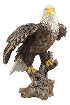 "Ebros Large 17"" Tall Realistic American Pride Bald Eagle Perching On Woo... - $159.99"