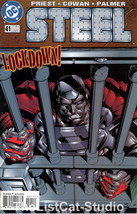 CMC-STL41 Vintage Comic STEEL Lockdown No 41 AUG 1997 - $3.95