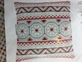 Vervaco Pattern Cross Stitch Needlepoint Pillow Kit PN-0150989 - $23.36