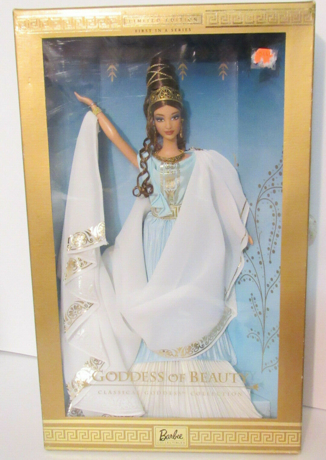 VHTF NRFB Goddess of Beauty Barbie Doll Classical Greek LTD ED 2000