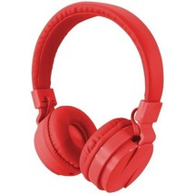 Ilive Bluetooth Wireless Headphones With Microphone (Red) - $19.98