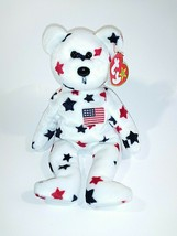 GLORY TY Beanie Baby 1997 Retired Near Mint Condition With Tag Errors - $14.84