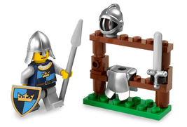 LEGO Castle Exclusive Mini Figure #5615 The Knight  - $12.37