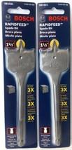 Bosch SB1021 1 1/2'' x 6'' Rapid Feed Spade Drill Bit 2PKS - $2.97