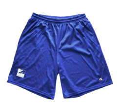 Bermuda Concepts ISLANDS Champion Athletic Mesh Shorts M Blue - $68.50
