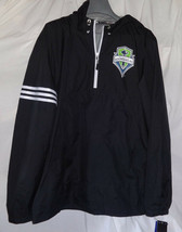 adidas SEATTLE SOUNDERS FC Mens Authentic Light Weight Jacket Sz Large NWT - $39.59