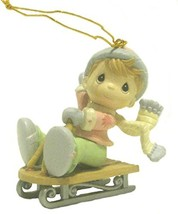 "Precious Moments ""Home for the Holidays"" 1995 Collection Christmas Ornament - Bo - $19.79"