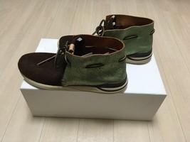 visvim HURON MOC-FOLK DK.BROWN US8 sneaker boots suede shoes  image 2