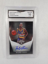 2015 Totally Certified 25/49 Fat Lever Auto Refactor Black GMA Graded Ge... - $49.45